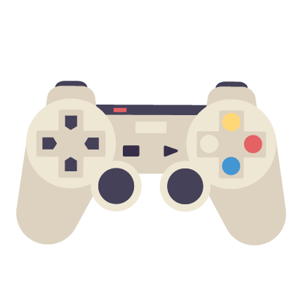 Games Console Controller Illustration