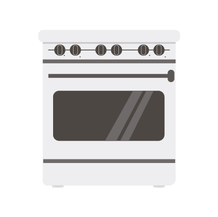 White Cooker Illustration